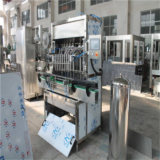 2000bph 10 Nozzles Stainless Steel Paste Filling Machine pictures & photos