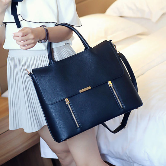 567e77235ec0 Branded Office Sling Shoulder PU Bag Briefcase for Women Ladies Girls  pictures   photos