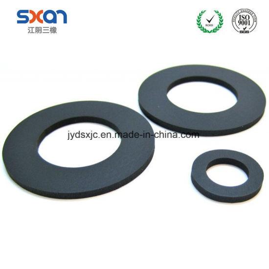 China High Quality NBR/ Iir/EPDM/FPM/Vmq Rubber O-Ring Flat Washers ...