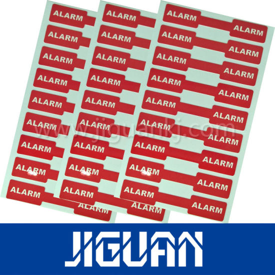 Silk Screen Printing Electronic Product Color Adhesive Label Sticker pictures & photos