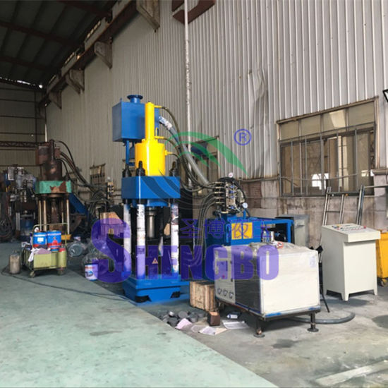 Waste Metal Borings Automatic Briquetting Machine (CE) pictures & photos
