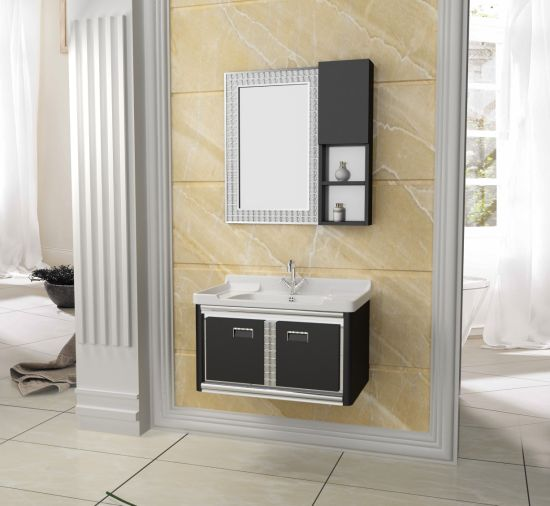 Wall Hanging Stainless Steel Metal Bathroom Cabinet for Sanitary Ware
