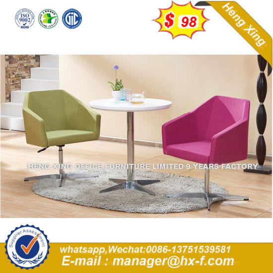 Modern Steel Metal Base Fabric Upholstery Leisure Chair (HX-sn8016) pictures & photos