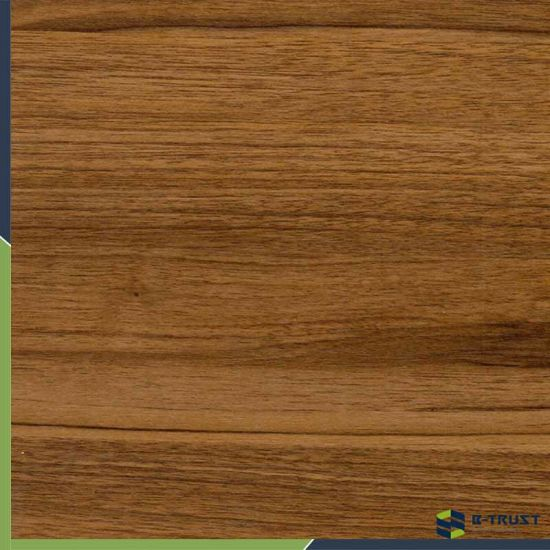 Wood Grain Embossed PVC Decorative Film for Any Surface Materials