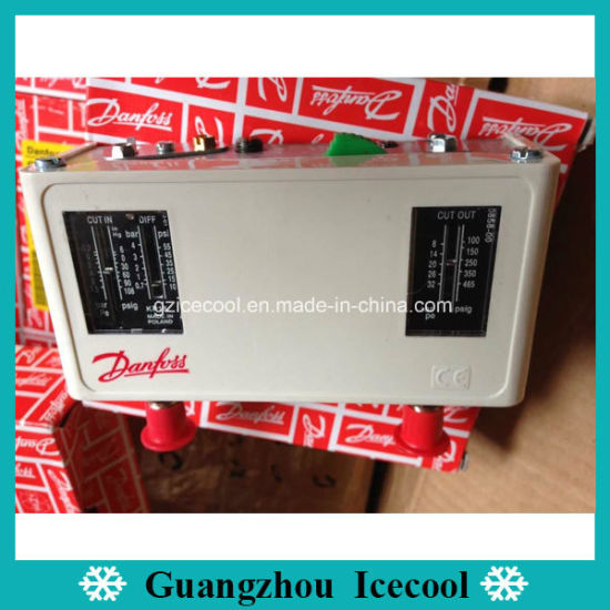 Kp15 060-124366 Danfoss Dual Pressure Control High Pressure Hand Movement Low Pressure Automatic Movement Double Pressure Switch