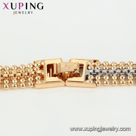 75105 Fashion Luxury Gold Plated Big Zircon Jewelry Bracelet pictures & photos
