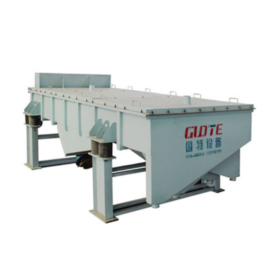 China High Efficiency Linear Vibrating Screen for Sale