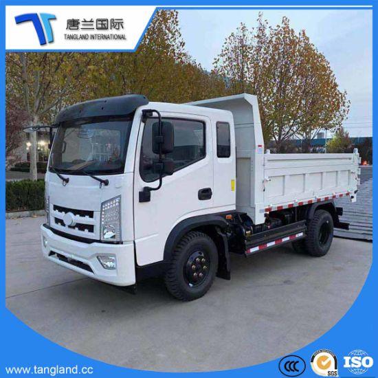 4*2 Light /Mini/ Tipper/Dumper/Site Dumpers/Cargo/ Dump Truck with Weichai Engine