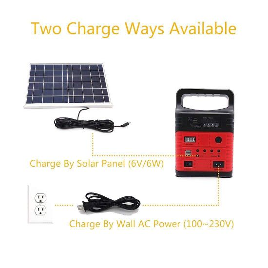 China Solar Home Light Home 10w Solar Power System Fm Solar Portable Kit China Solar Power System Home Solar Power System
