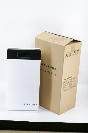LCD Display Air Quality Monitoring Air Purifier with HEPA Filter pictures & photos