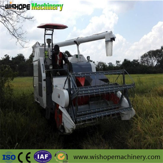 2m Cutting Width Harvester for Rice pictures & photos