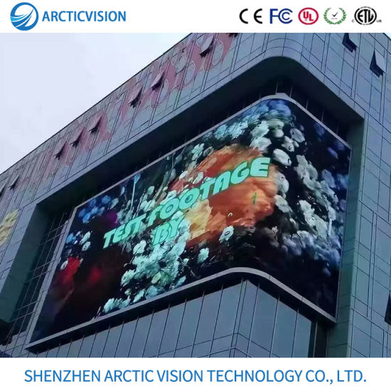 Mpled Indoor Outdoor P2.5 P3 P4 P5 P6 P8 Round Shape Cylinder Column LED Display Screen