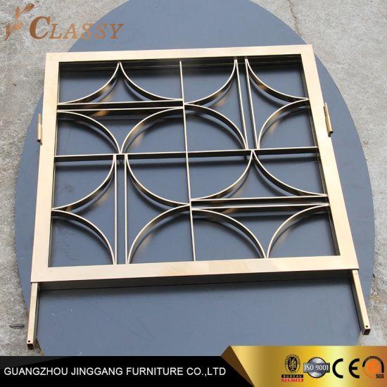 Laser Cut Stainless Steel Window Screen Room Divider