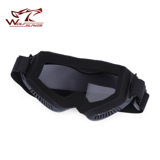 f5030b83d1a Tactical Military Outdoor Cycling UV400 Anti-Wind Riding Motorcycle  Protective Glasses Goggles