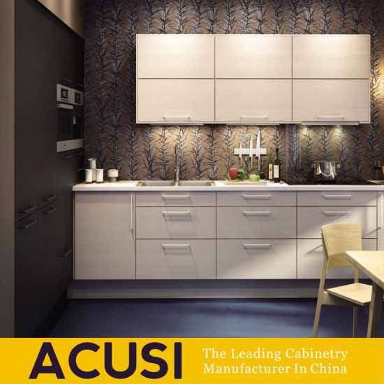 Hot Modern Design Lacquer Linear Style Kitchen Furniture Home Cupboard Cabinets (ACS2-L137)