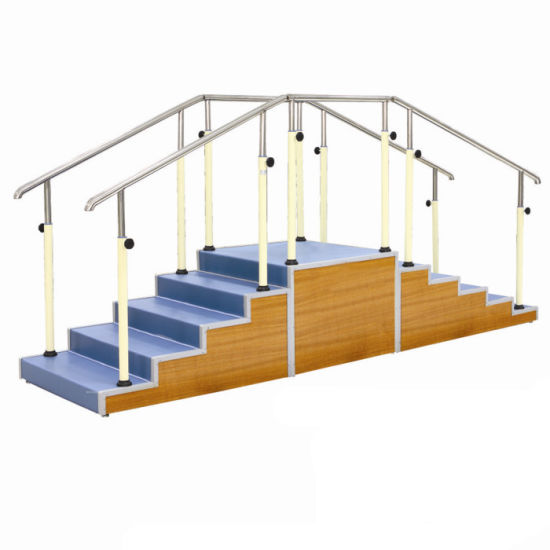 Physical Therapy Rehabilitation Equipment of Walking Training Stairs Supplier