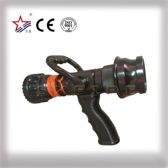 """Fire Nozzle Jet or Spray 2 1/2 """"English Coupling"""