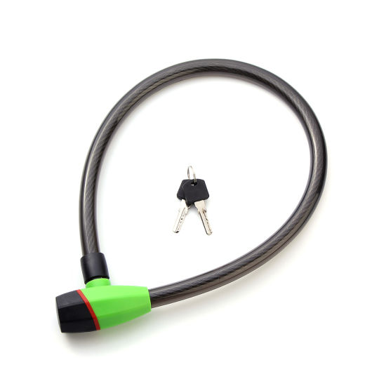 China Motorcycles Bicycle Steel Cable Lock Bike Wire Lock - China ...