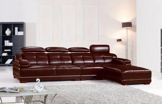 Miami L Shape Corner Leather Sofa