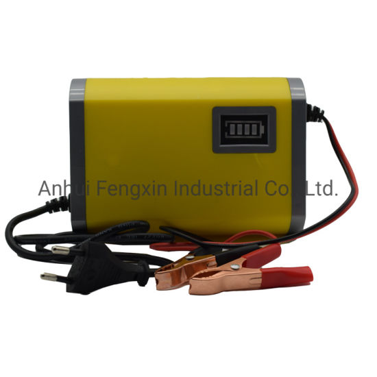 China Manufacturer 12V5A Golf Trolley Adapter Battery Charger Used for Car Battery with CE and RoHS