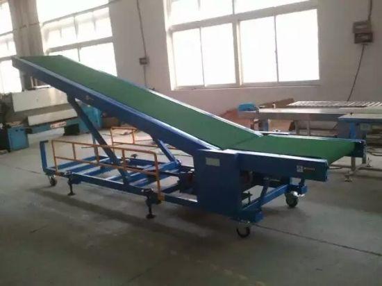 Truck Load and Unloading Goods Conveyor, Loading Belt Conveyor