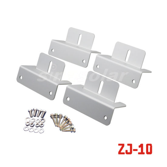 Stainless Steel Z Shaped Bracket Wall Mount Bracket for RV/Caravan/Marine (ZJ-10)