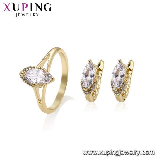 China Fashion Simple Gold Color Imitation Jewelry Set China