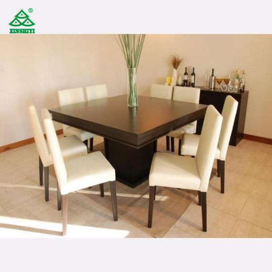 Modern Style 8 Seat Dining Table Set