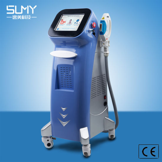New Style 2000W Output Power Opt IPL Shr+Laser Hair Removal Salon Equipment (blue style)