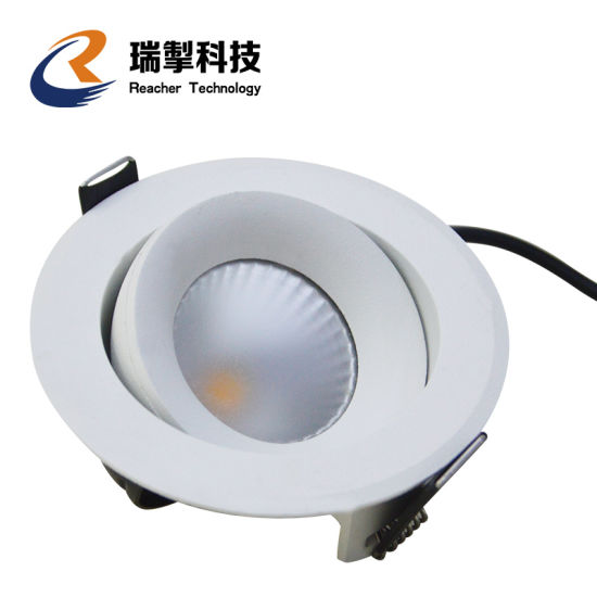 Exclusively New Design Rotatable Dimmable Surface Recessed Mount 12W LED Spotlight, 7W 15W 30W 40W Indoor Decorative LED Down Lights