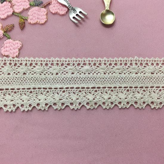 Hot Sale 4cm Lace Cotton Trimming Lace for Women Clothes