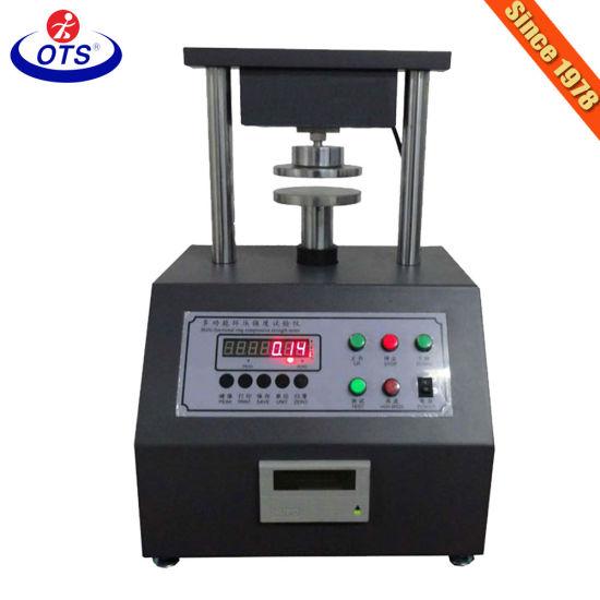 Paper Board Edge Crush Test Machine Ect Test Equipment