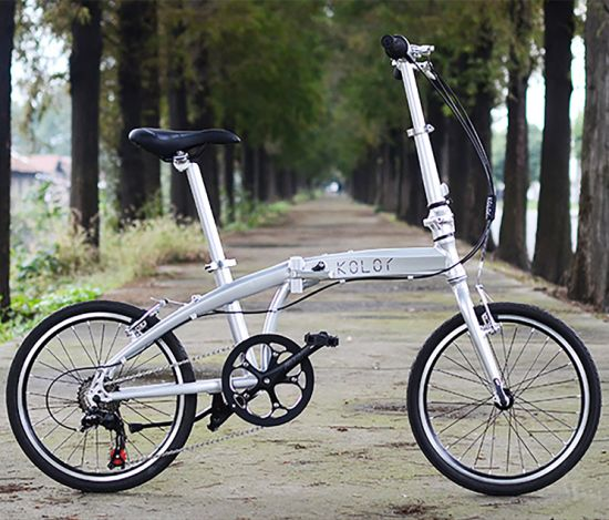 Road Folding Bike Aluminum Frame Bicycle Suspension Fork Stem Foldable