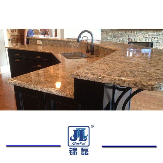 China Natural Polished Giallo Santa Cecilia Granite For