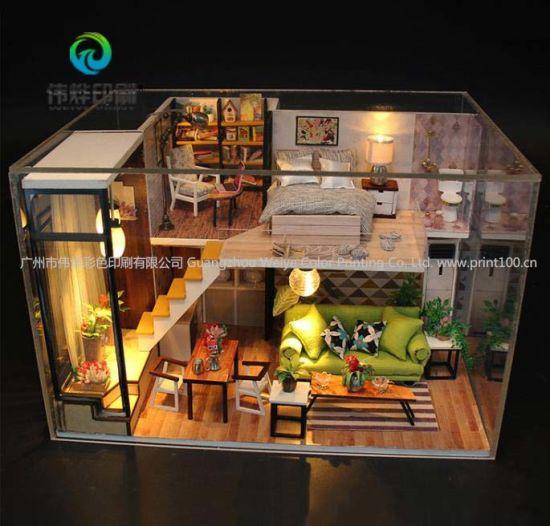 DIY Doll House Miniature Doll Houses Toys