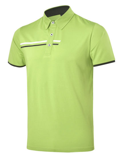 27e9f7e6 China Custom Logo Quick-Drying Fabric Men Polo Shirt - China Sports ...