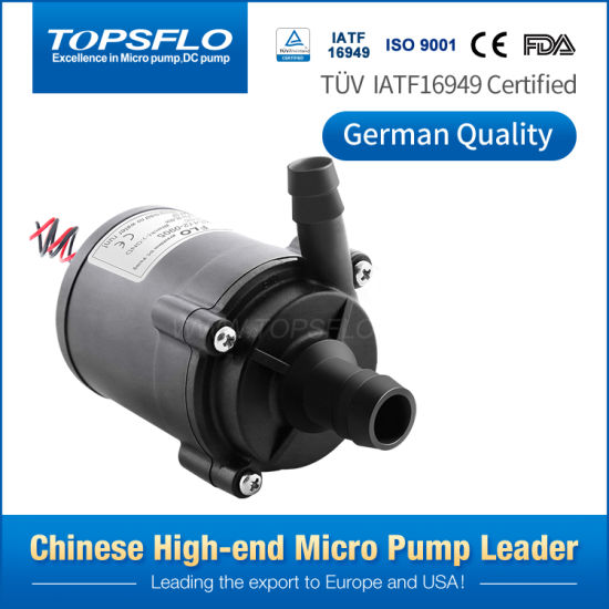 Long Lifetime Low Noise Small 12V 24V Brushless Centrifugal Cooling Circulating DC Mini Water Pumps, Micro Water Heater DC Pump, Small DC Mini Hot Water Pump