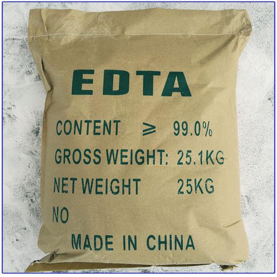 China Supplier EDTA Tetrasodium Salt Ehylenediaminetetra Acetic Acid 99%Min EDTA