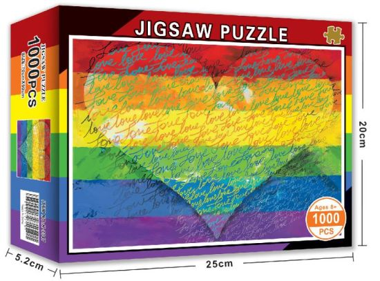 70cm X 50cm Manufacturers Toy Educational Puzzle Custom 1000 Piece Jigsaw Puzzles Customized 1000 Pieces Paper Board Collection Jigsaw Puzzle for Kids Adult