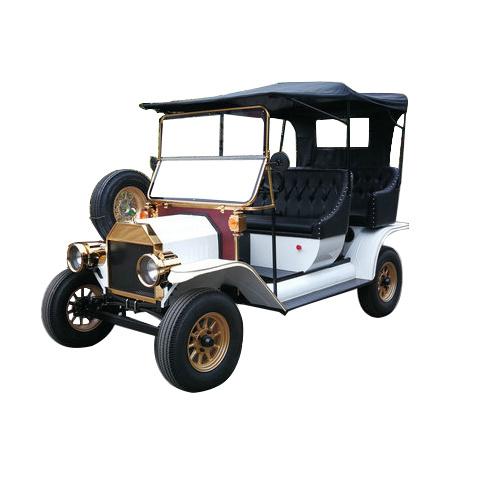 Rariro Durable 5kw Antique Model T Coupe Electric Tourist Car