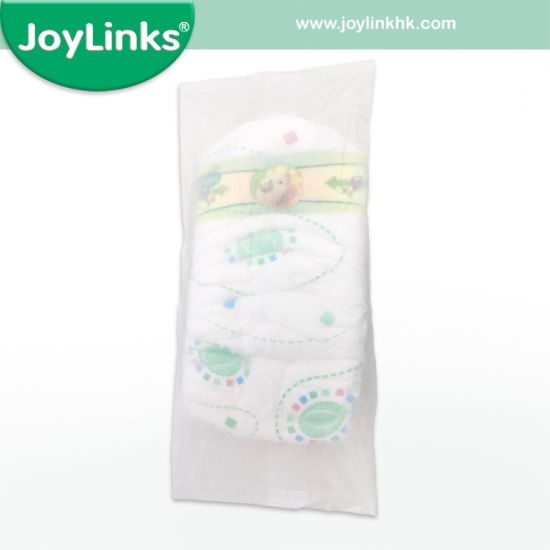 SGS Approval A Grade Baby Diaper with Individual Sachet