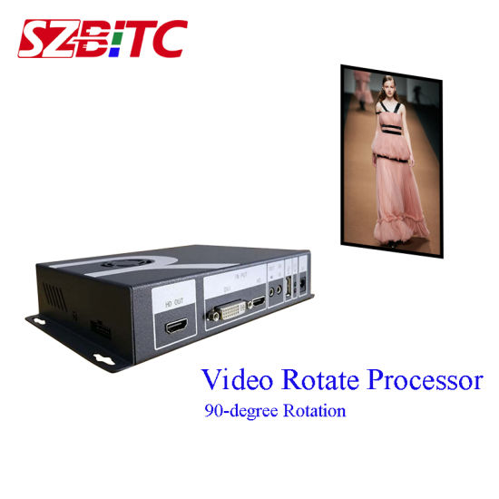HDMI Video Rotate Processor Szbitc Video Wall Controller 90, 180, 270degree Rotation
