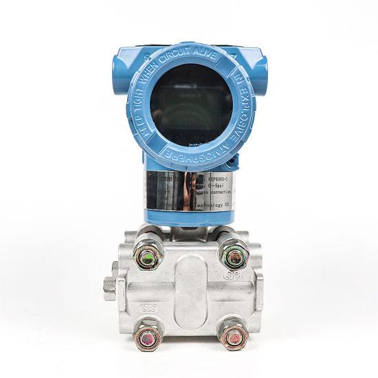 Smart 4-20mA Differential Pressure Sensor Explosion Proof Pressure Transmitter