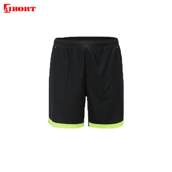 Aibort 2020 100% Polyester Top Quality Sublimation Football Soccer Shorts (V-FOOTBALL1 (1))