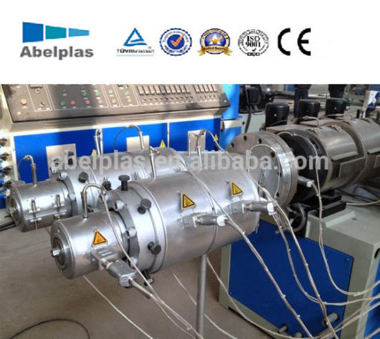 Plastic PVC/CPVC/UPVC Water& Electric Conduit Pipe/Tube (extruder, haul off, cutting winding, belling) Extrusion/Extruding Making Production Line Machine