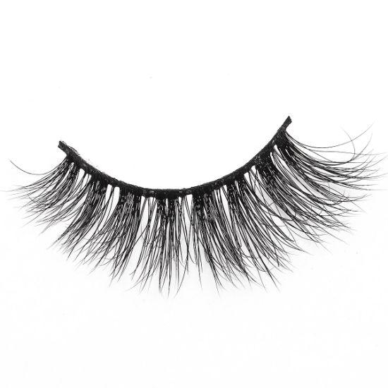 Wholesale Faux 3D Mink Eyelashes 100% Real Mink Eyelashes