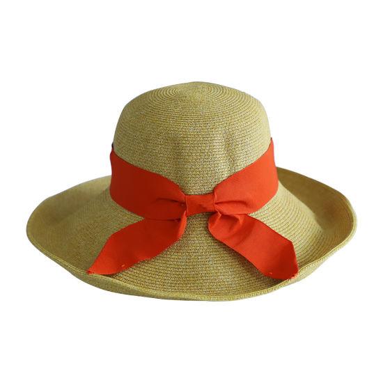 Fashionable Folding Straw Hat