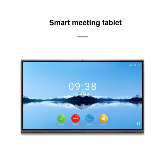 65 Inch Touch Screen Smart Conference Tablet Electronic Whiteboard Multimedia Teaching Machine Touch Conference All-in-One Machine