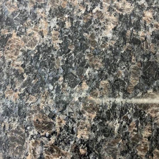China Natural Black Galaxy Granite Slabs for Kitchen Countertop
