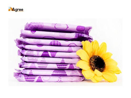 Organic Cotton Lady Women Organic Sanitary Napkin Manufacturer